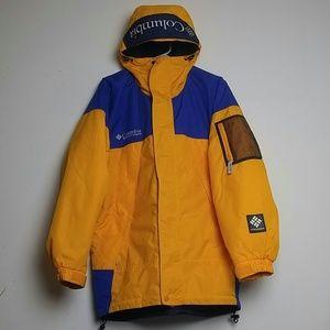 VTG Mens Columbia Colorblock Jacket Mens Medium